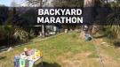 backyard runner