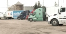 Truckers say with many rest stops closing, it's getting difficult to find places to wash up and eat while on the road.