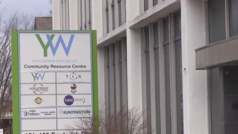 People seek shelter at Kitchener YMCA