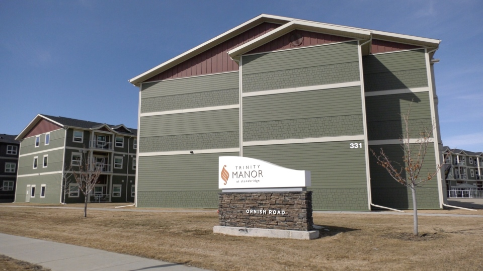 Trinity Manor in Saskatoon is pictured.