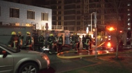 Explosive fire at UBC construction site