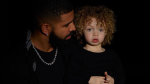 Canadian rapper Drake shared photos of his two-year-old son, Adonis, for the first time on Instagram early Monday morning. (Instagram/champagnepapi)