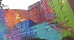 Former Sudbury hospital turned Canada's largest mural. Mar. 30/20 (Molly Frommer/CTV Northern Ontario)