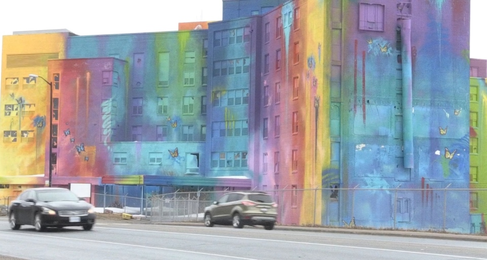 Canada's largest mural is located in Sudbury, Ont.