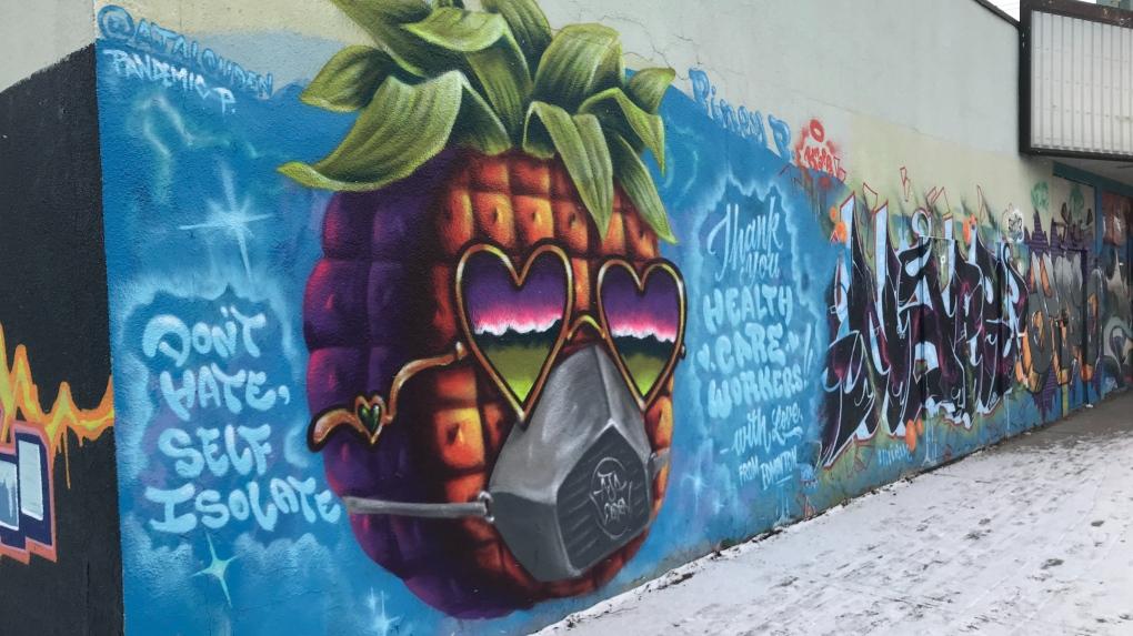 Alberta Avenue Mural