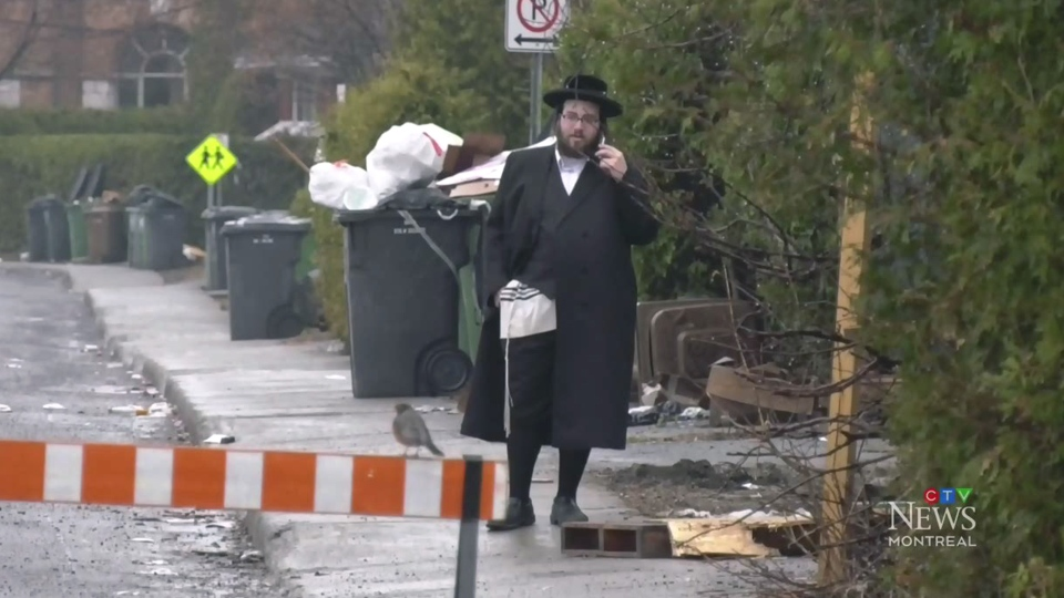 Quebec Hasidic community under lockdown