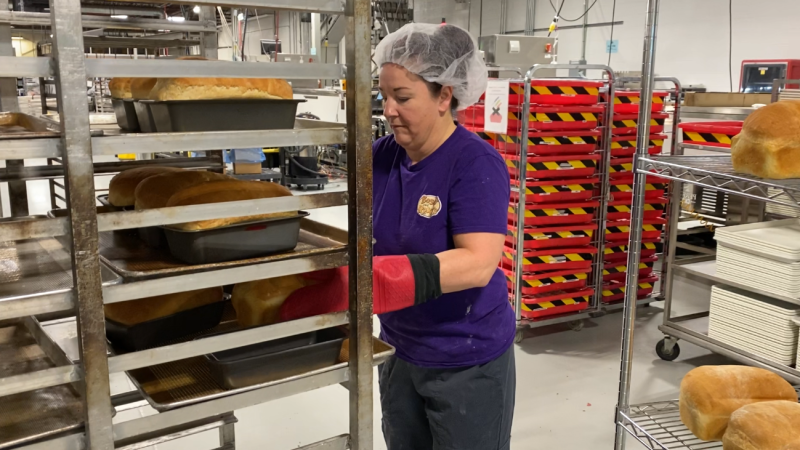 Amid the COVID-19 pandemic, London, Ont. dog treat-maker Bosco and Roxy's has expanded to bake for people too, as seen on Monday, March 30, 2020. (Celine Zadorsky / CTV London)