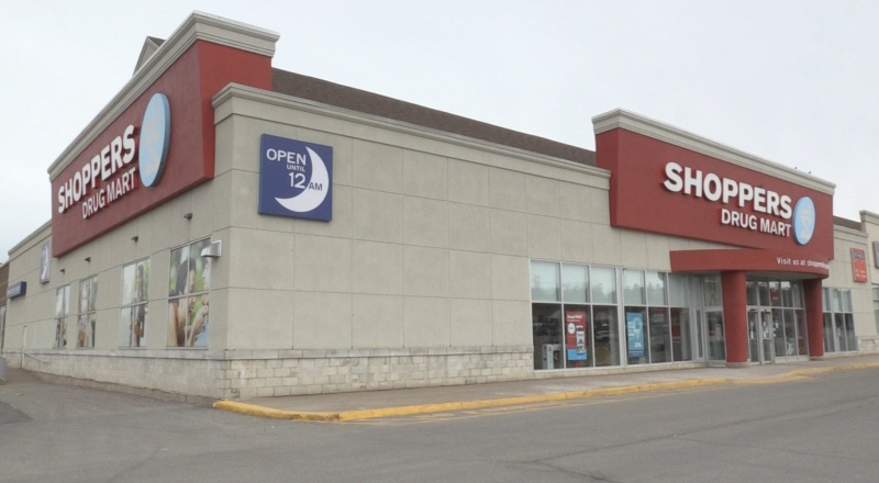 A positive test for COVID-19 forced the closure of two Shoppers Drug Mart locations in New Brunswick over the weekend.