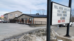 The Nova Scotia Health Authority says anyone who visited Rob Bitar's Ristorante on Highway 2 on March 23 and March 24 may have been exposed to the novel coronavirus. (Cory McGraw/CTV Atlantic)