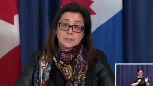 Toronto Chief Medical Health Officer Dr. Eileen de Villa