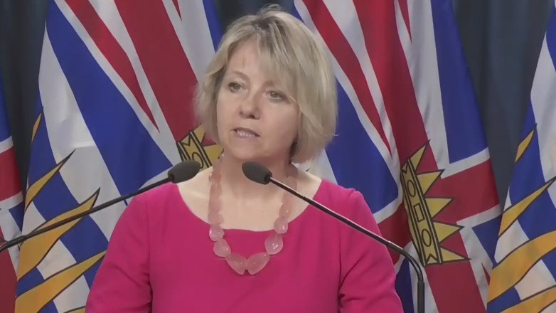 B.C.'s Chief Medical Health Officer Dr. Bonnie Henry