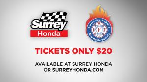 Surrey Honda Charity Raffle