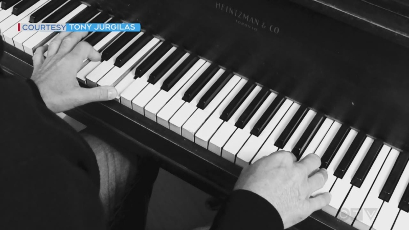 Watch Monday's Bright Spot: Sudbury telethon drummer Tony Jurgilas plays the piano from his quarantine zone.