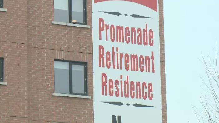 Orleans Promenade Retirement Residence in Ottawa.