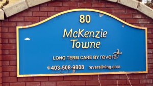 A representative of Revera says another resident at McKenzie Towne Continuing Care has died from COVID-19.