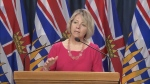 B.C. provincial health officer Dr. Bonnie Henry announces another 86 cases of COVID-19 in the province on Monday, March 30, 2020.