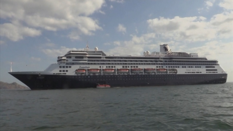Surrey couple trapped on cruise ship