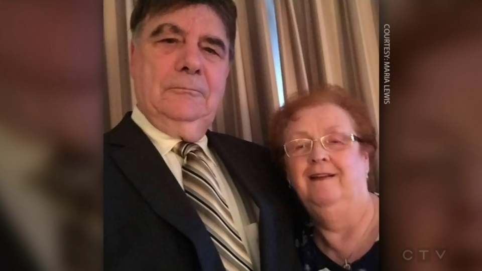 Vance and Elaine Arbeau of Halifax are on board the cruise ship Zaandam, which set sail around South America in early March. (Submitted: Maria Lewis)