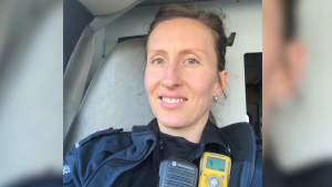 Annelie Van der Heyden had just finished her first shift back after a vacation when she discovered her work gear had been stolen from her car. (Submitted)