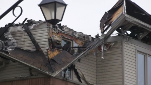 Two people died as the result of a two-alarm fire at a row house complex on Barnstone Dr. in Barrhaven in the early hours of Tuesday, March 31, 2020.