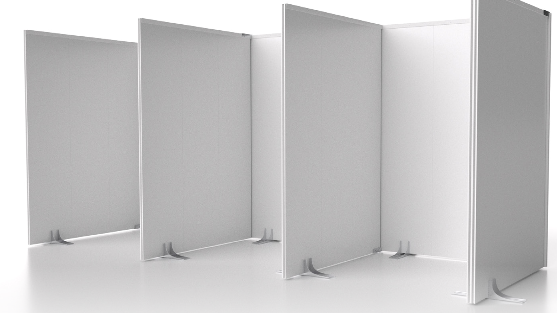 A modular wall system by Trusscore shown in this photo from the company's website. (Source: Trusscore.com)