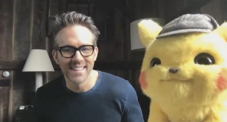 Ryan Reynolds video calls kids sick in hospital