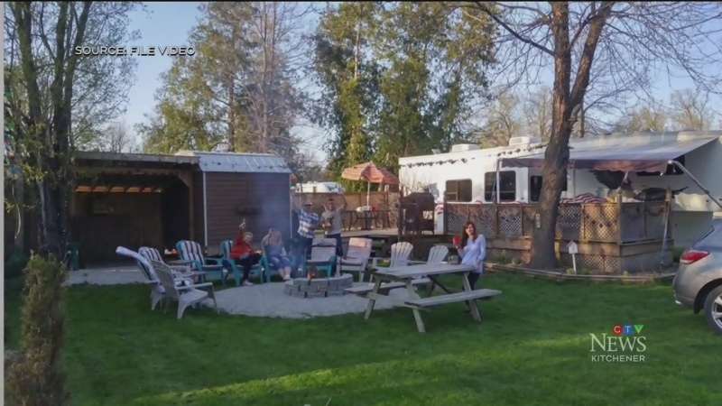 Campground opening early for stranded snowbirds