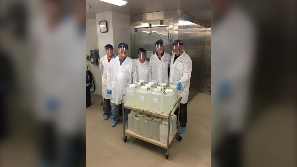 Great Lakes Forestry Centre quarantine lab