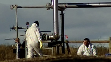 A gas well south of Dawson Creek, B.C., is seen here in a file photo from 2009.