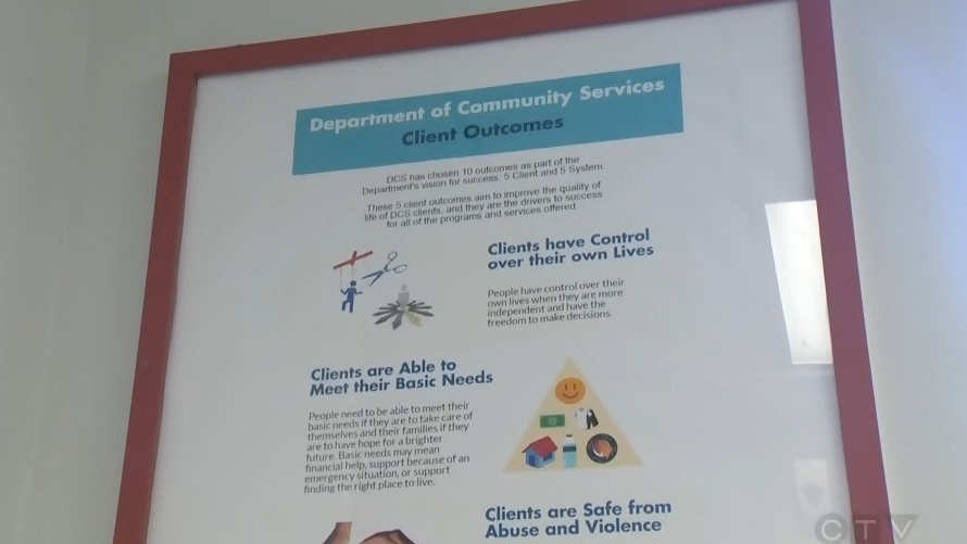 Nova Scotia's Department of Community Services