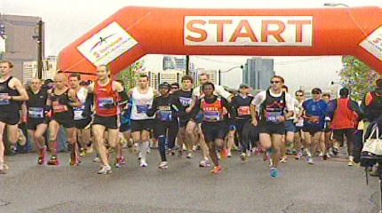 Originally set for May 31, the 56th annual Scotiabank Calgary Marathon is being postponed due to the COVID-19 pandemic. (File photo)