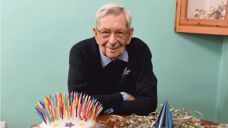The oldest living man is British pensioner Robert Weighton, who is 112 years old. (Guinness World Records / CNN)