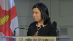 Mayor Valerie Plante