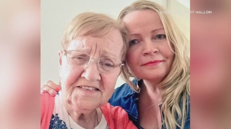 For Mary Mallon, the onset of COVID-19 meant it was already extremely difficult to be away from her 89-year-old mother, who is in long-term care in Antigonish, N.S. (Submitted: Mary Mallon)