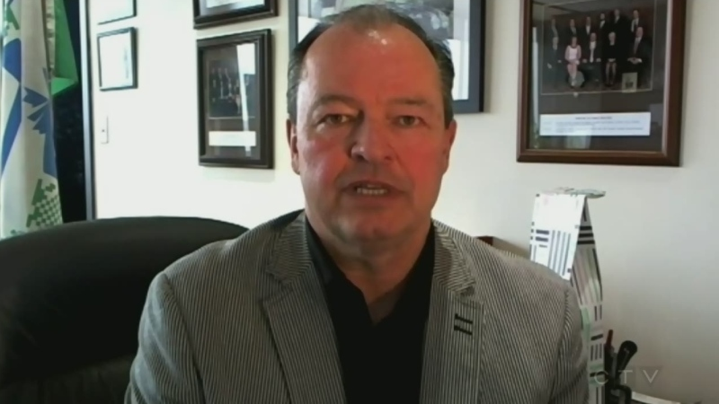 North Bay Mayor Al McDonald (Tony Ryma/CTV Northern Ontario)