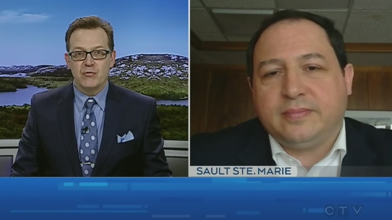Watch Tony Ryma's interview with the mayor of Sault Ste. Marie, Christian Provenzano about how he's reaching residents through social media. (CTV Northern Ontario)