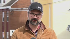"""""""We've never had to think about distance between clients before, whether at our community suppers or at our shelter and what this is doing is making us think about those types of things,"""" said Tony Dickenson of the Outflow men's shelter."""