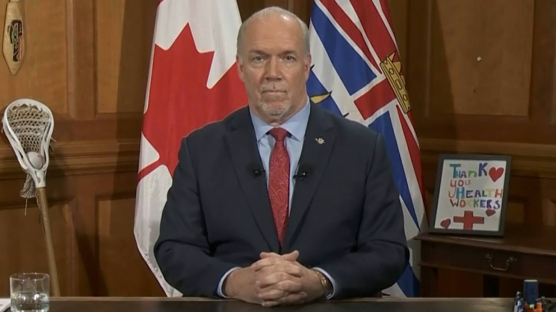 Full address from John Horgan on COVID-19 crisis