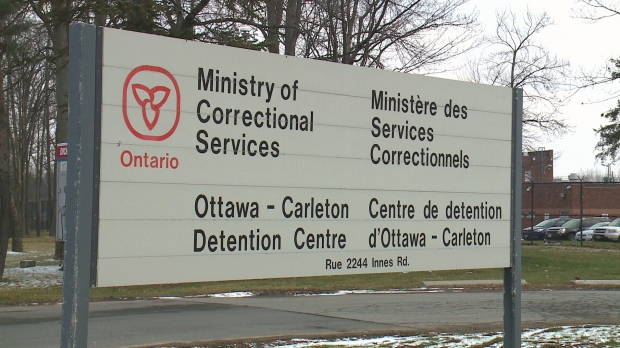 Inmate at Ottawa-Carleton Detention Centre tests positive for COVID-19