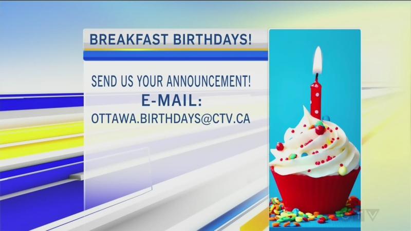 CTV Morning Live Birthdays Apr 01