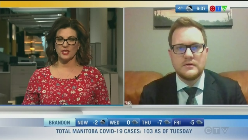 The CFIB is worried about the impact COVID-19 is having on businesses in Manitoba. Rachel Lagacé reports