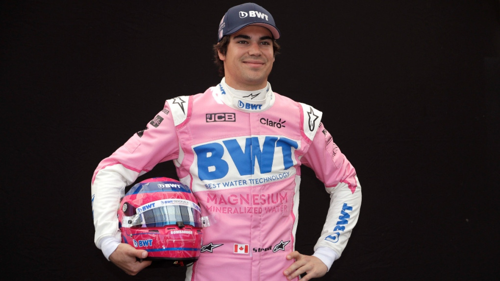 Racing Point driver Lance Stroll