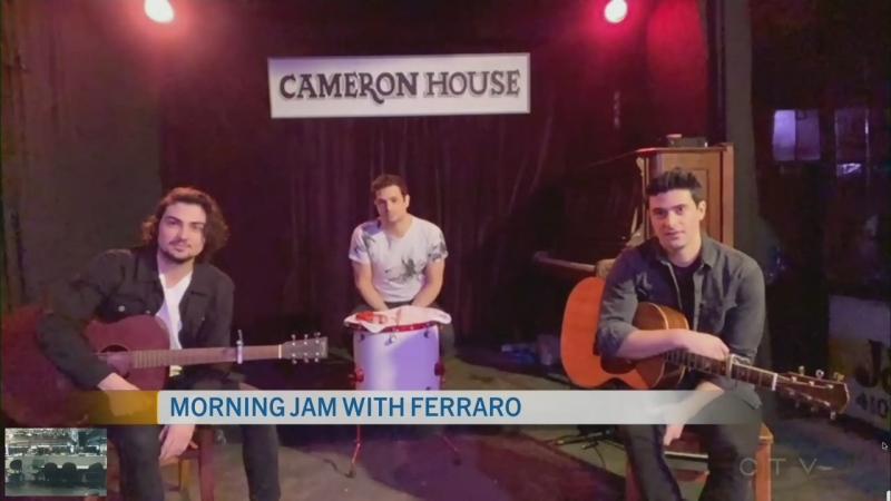 CTV Morning Live Ferraro Apr 01
