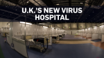 The ExCeL Centre in London, England, is being turned into a temporary COVID-19 hospital that could potentially house up to 4,000 beds.