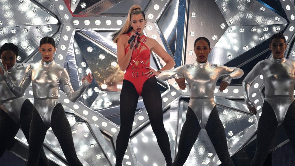 Dua Lipa performs in 2019