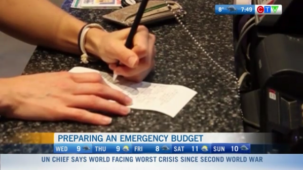 Emergency budget, how to