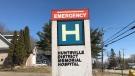 Huntsville District Memorial Hospital. (Rob Cooper/CTV News)