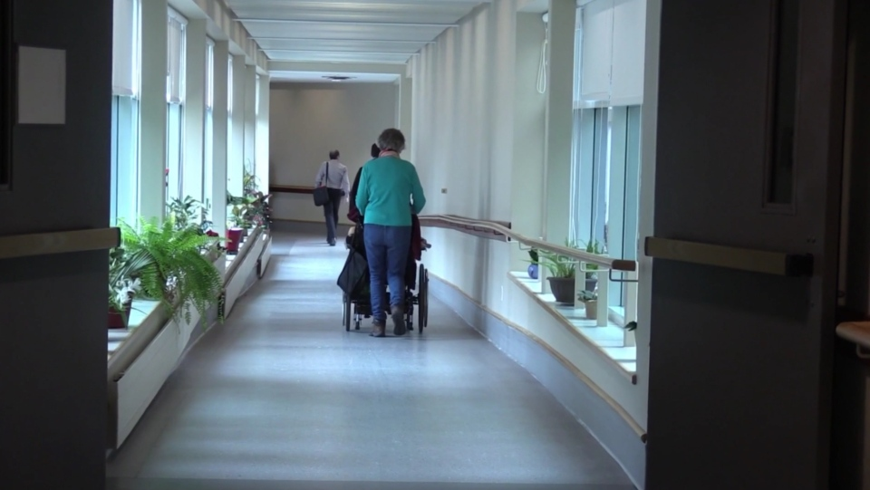 Nursing home hallway (File photo)