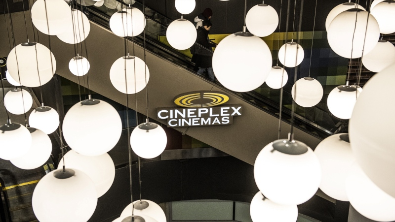 Cineplex Odeon Theater at Dundas Square in Toronto on Monday December 16, 2019. Canada's largest movie exhibitor Cineplex Inc. will keep its doors closed nationwide into the forseeable future amid the COVID-19 pandemic. THE CANADIAN PRESS/Aaron Vincent Elkaim