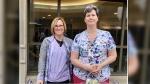 Kelly Jarvis & Kim Holmes - ICU nurses - The Ottawa Hospital-Civic Campus